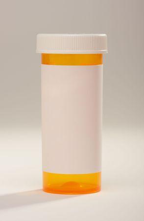 prescription bottle: Blank Prescription Bottle