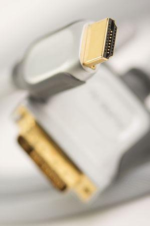 Macro Shot of HDMI Cable Stock Photo - 2977389