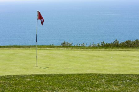 golf of california: View from Torrey Pines Golf Course in San Diego California