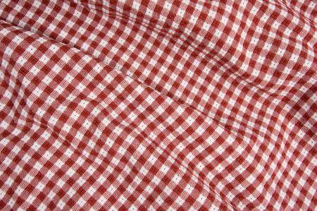 Rood en Wit Geruit Picnic Blanket Detail
