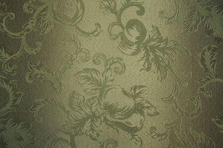 olive green: Elegant Silk Material Background Abstract Stock Photo