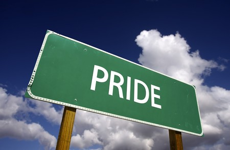 swagger: Pride Road Sign - 7 Deadly Sins Series