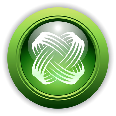 Universal Dynamic Icon Button for Company, Service or Product. 일러스트