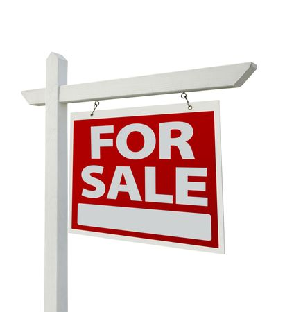 For Sale Real Estate Sign  Stock Photo - 6738122