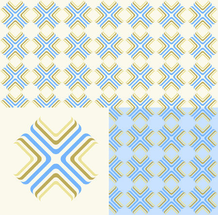 textiles: Every Color Separate and Grouped Layers, Seamless Background - Very Easy to Edit Yourself.