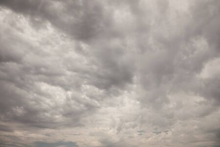 Ominous Dark Cloudy Stormy Sky Background Image. photo