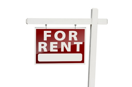 For Rent Real Estate Sign Stock Photo - 9093966