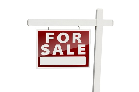 Home For Sale Real Estate Sign Stock Photo - 9093967