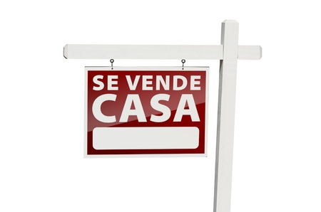 se: Spanish Se Vende Casa Real Estate Sign