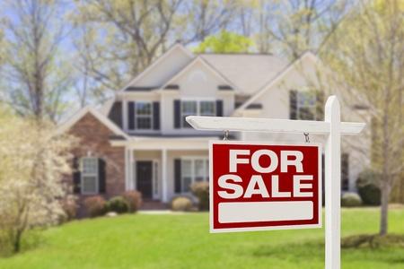 home loans: Casa per vendita immobiliare segno e bella casa nuova.