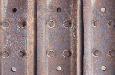 Abstract Rusty Vintage Metal Surface Background.