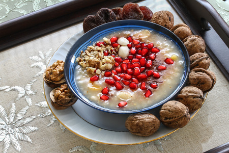 sweet and savoury: Sweet of Anatolia Ashura