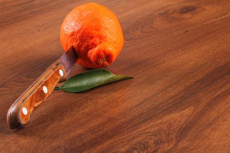 kitchen spanish: The Seville Orange Jam Part on The Wood Stock Photo