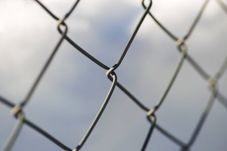 Wire mesh for people and animals. Stok Fotoğraf