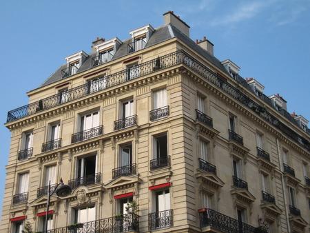 architectural style: Haussmann building architectural style - Paris