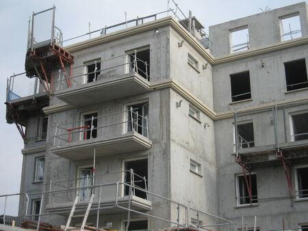 btp: Apartment building under construction