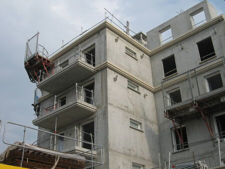 Residential building under construction