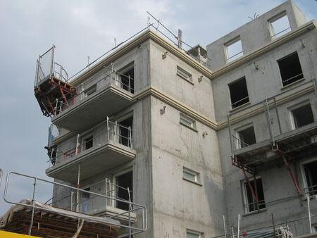 btp: Residential building under construction