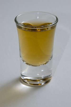 barware: Filled Shot Glass