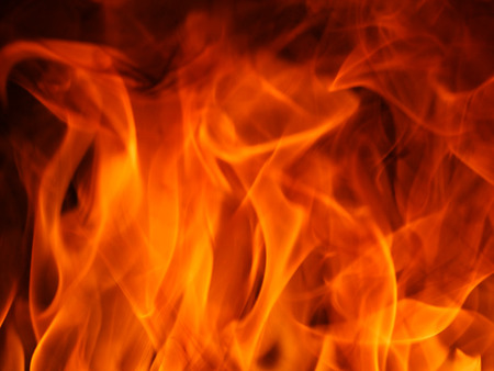 Flame of fire. Foto de archivo