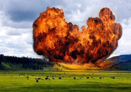 tragedies: Supervolcano.