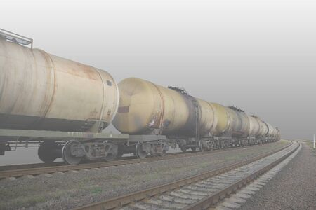 cross ties: Rail transportation of oil products.