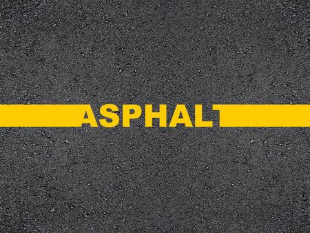 asphalt: Road inscription asphalt.