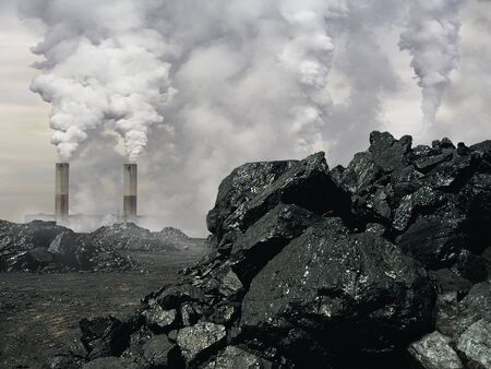 Environmental disaster. Imagens