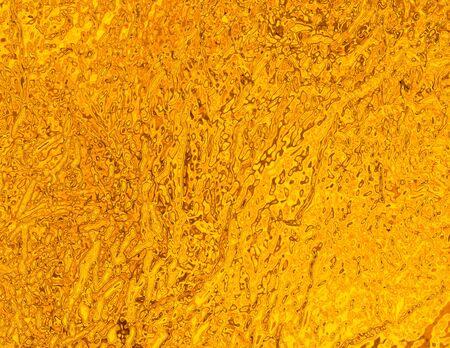 foil: Gold foil, texture.