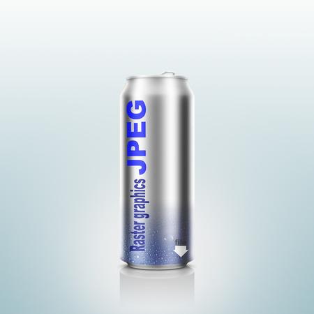 jpeg: Jpeg, fopmats, aluminium can.