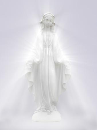 聖母マリア。