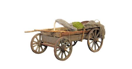 Rustic, old wagon.