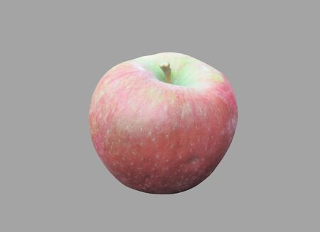 Winter grade of apple on a white background.