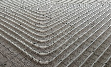 Provision of floor heating in cold climate homes