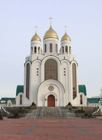 Cathedral of Christ the Savior in Kaliningrad, Victory Square.
