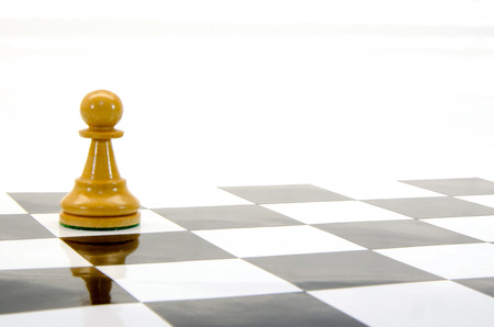 spiel: an illustration of a wooden chess figure