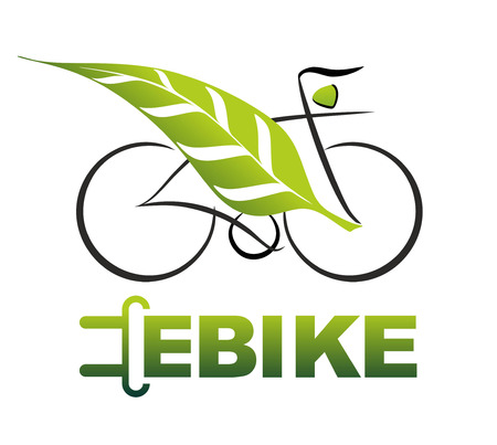 プラグと e-自転車の簡易図