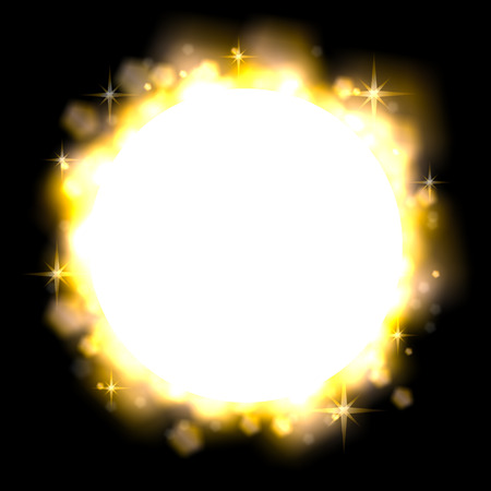 illustration of stardust as a decorative background illustration
