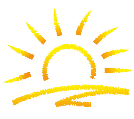 illustration of a sun drawn with chalk royalty free cliparts rh 123rf com Chalk Banner Chalk Outline of Body