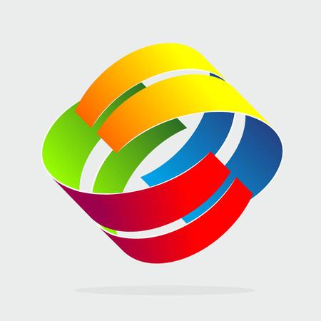 reduced value: ilustraci�n abstracta con formas y colores que se repiten