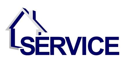 abstracte service teken