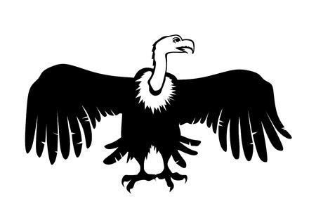 faillite: vautour comme m�taphore de la menace de la faillite