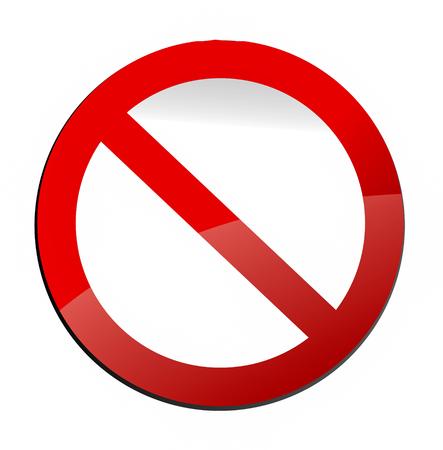 metafoor: verkeersbord als metafoor voor een verbod
