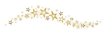stars and stardust as a decorative arrangement