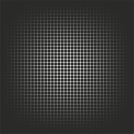 symbols  metaphors: metal grid as abstract and decorative background Stock Photo