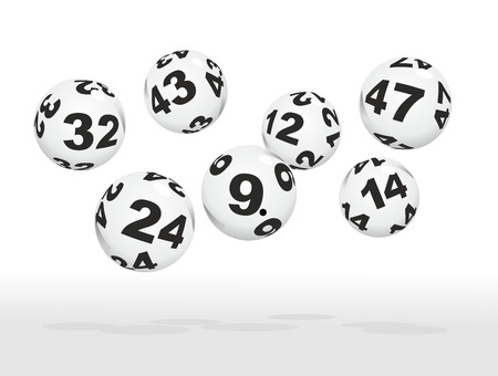 many lottery balls as good luck charms