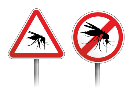 gnat: warning sign, gnat and other annoying insects