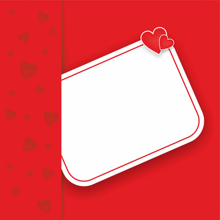 small note in pocket with two hearts Stock Photo