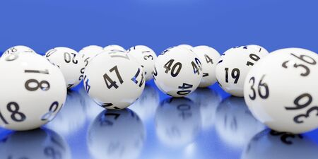 Abstract  of dynamically rolling lottery balls