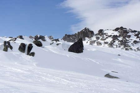Winter mountain Stock Photo